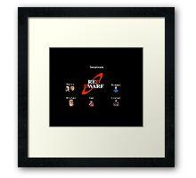 Red Dwarf Framed Print