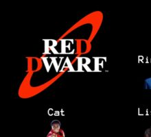 Red Dwarf Sticker