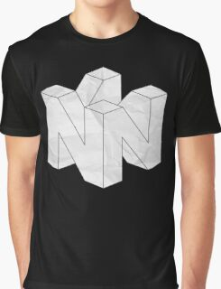 Paper N64 Graphic T-Shirt