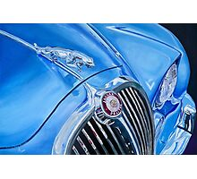 Classic Car in Blue Photographic Print