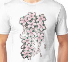 """Blossoms"" Pink Unisex T-Shirt"