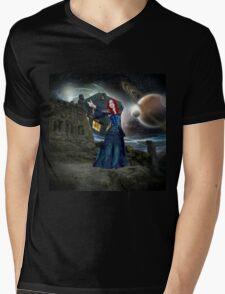 Amys Call Mens V-Neck T-Shirt