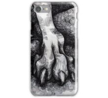 Beware of the hound I. iPhone Case/Skin