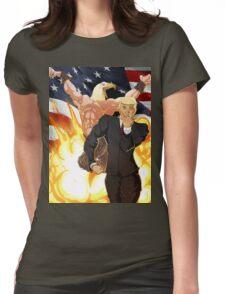 Trump's Bizarre Election - Jojo's Bizarre Adventure Trump Womens Fitted T-Shirt