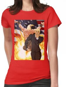 Trump's Bizarre Election - Jojo's Bizarre Adventure Trump Womens Fitted T-Shirt