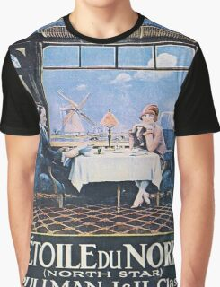 Vintage poster - North Star Graphic T-Shirt