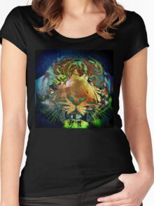 Tiger_8543 Women's Fitted Scoop T-Shirt