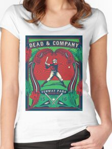 DEAD & COMPANY SUMMER TOUR 2016FENWAY PARK-BOSTON,MA Women's Fitted Scoop T-Shirt