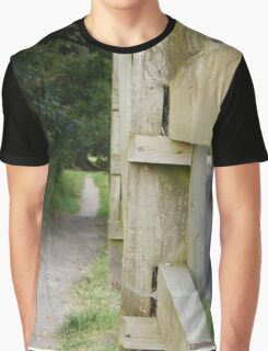 The Path By The Road Graphic T-Shirt