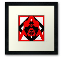 Insignia of the Headless Space Alien Mutant Zombie Unicorns in Absentia Framed Print