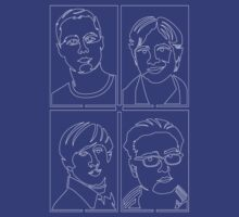 Big Bang Boys in Linear Style by jono-ad