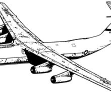C-141 Starlifter by deathdagger