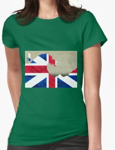 Great (Britain) Wave Womens Fitted T-Shirt