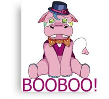 Discover Hippo - BooBoo! Canvas Print