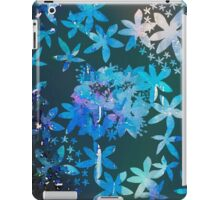 Double exposure water color painting iPad Case/Skin