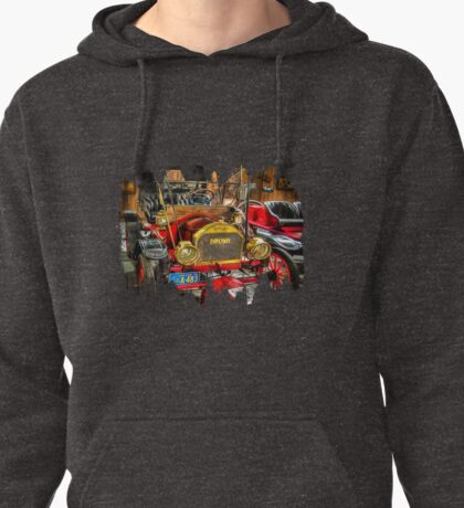Cruisin' In A 1910 Brush Automobile Pullover Hoodie