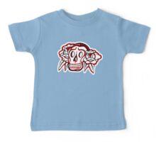 """Bold-School"" Candy Skull. Baby Tee"