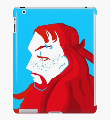 pickles the drummer iPad Case/Skin