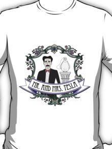 Mr. And Mrs. Tesla T-Shirt