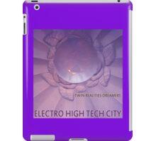 Electro High Tech City iPad Case/Skin