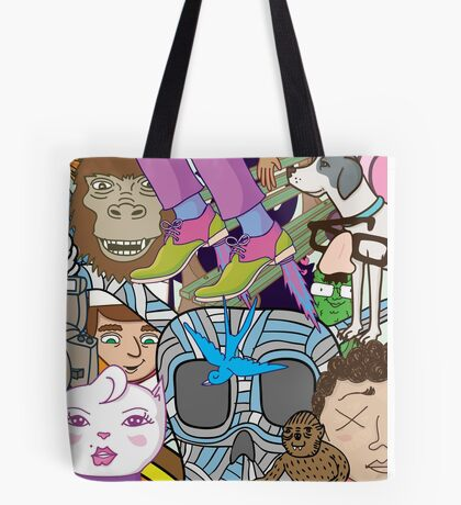 Mash-Up Tote Bag