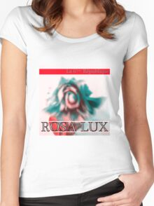 Rosa Lux Positive Women's Fitted Scoop T-Shirt