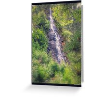 Water Fall of Telluride Greeting Card