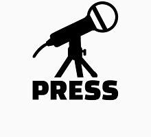 Press microphone Unisex T-Shirt