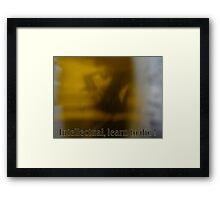 Alejandro Jodorowsky Awake  Framed Print