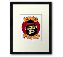 King Pong Framed Print