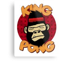 King Pong Metal Print