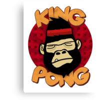 King Pong Canvas Print