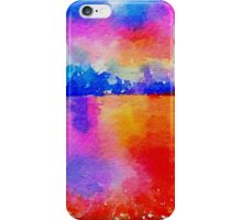 Beautiful,landscape painting,water color iPhone Case/Skin