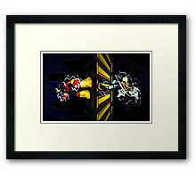 Two Futures Framed Print