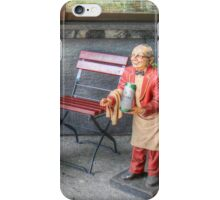 At your service!  iPhone Case/Skin