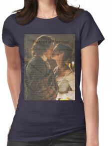 Outlander Wedding/Jamie & Claire Fraser Womens Fitted T-Shirt