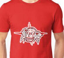 """Bold-School"" Sugar Skull. Unisex T-Shirt"