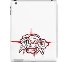 """Bold-School"" Sugar Skull. iPad Case/Skin"