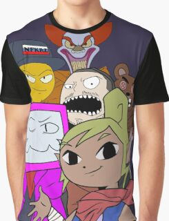 THE EDGIEST KIDS EVER Graphic T-Shirt