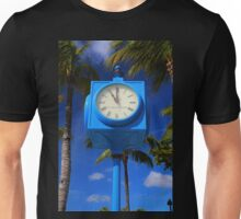 Fort Myers Beach Clock - vertical Unisex T-Shirt