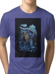 Realistic Squirtle Tri-blend T-Shirt