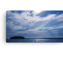 Oceans Above Canvas Print