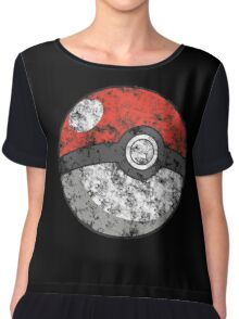 Smoke pokeball Chiffon Top