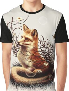 The Fox Tale Graphic T-Shirt