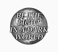 Be the Light in a Dark World Men's Baseball ¾ T-Shirt