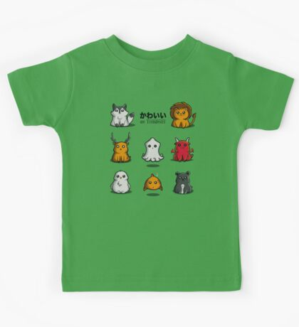 Kawaii of Thrones Kids Tee