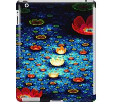 Red Lillie on the Water Pond iPad Case/Skin