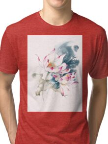 """""""Journey For Two"""" from the series """"In the Lotus Land"""" Tri-blend T-Shirt"""