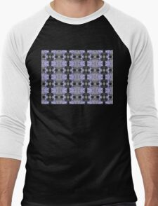 Agapanthus Patterns Men's Baseball ¾ T-Shirt