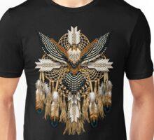 Aplomado Falcon Native American Mandala Unisex T-Shirt